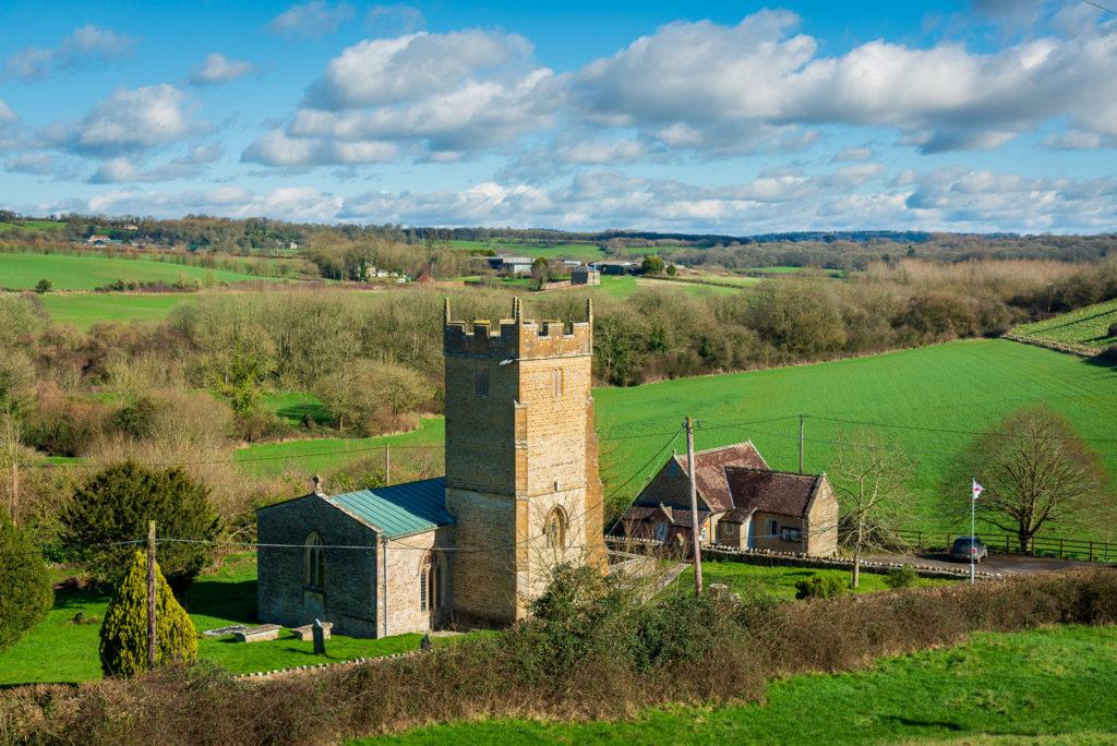 The parish church of St Peter - Shepton Montague, Somerset, UK. ID JB1_7643