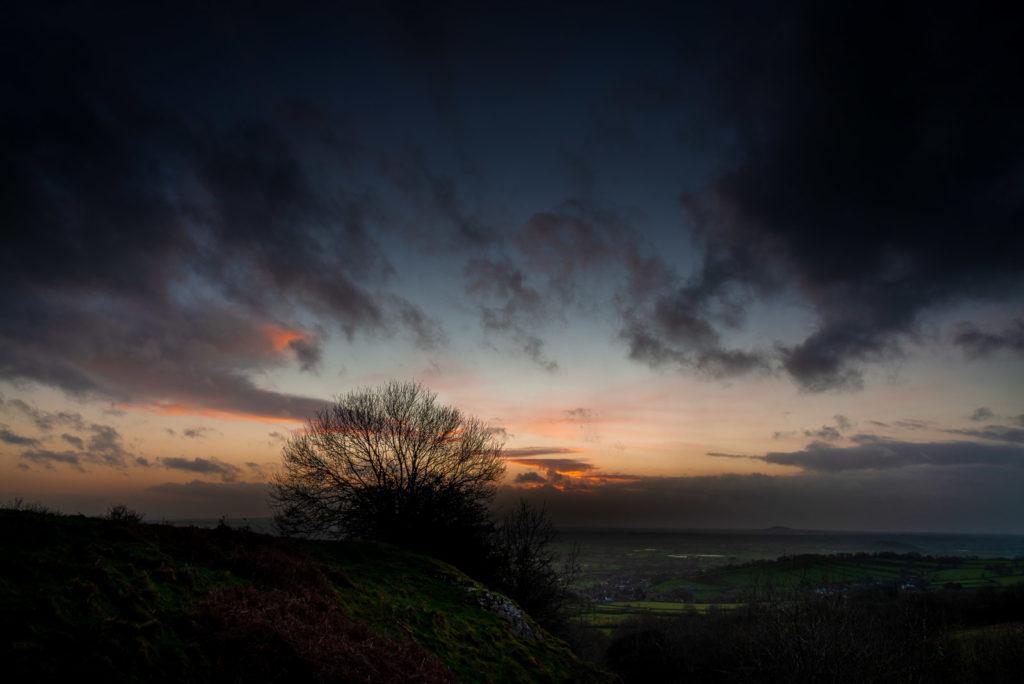 Lynchcombe Lookout - Mendip Hills, Somerset, UK. ID JB1_7877