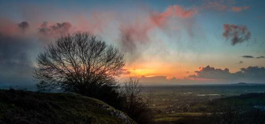Lynchcombe Lookout - Mendip Hills, Somerset, UK. ID JB1_8225