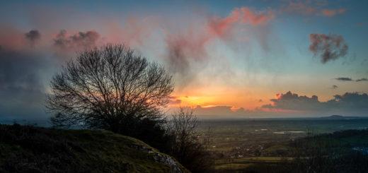 Lynchcombe Lookout - Mendip Hills, Somerset, UK. ID JB1_8225