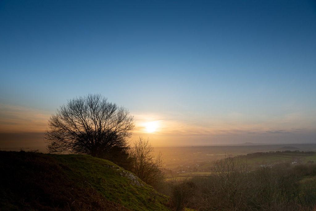 Lynchcombe Lookout - Mendip Hills, Somerset, UK. ID JB1_8286