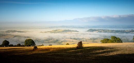Deerleap Standing Stones - Mendip Hills, Somerset, UK. ID JB1_3874