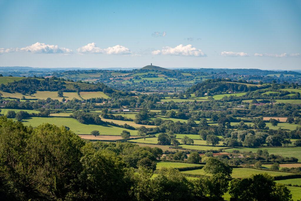 Glastonbury Tor - From Lynchcombe, Somerset, UK. ID JB1_5477H