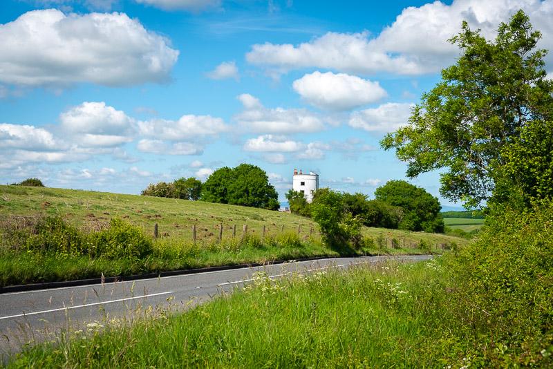 Walton Windmill - Walton Hill, Walton, Somerset, UK. ID JB1_1353