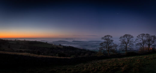 Mendip Night - Lynchcombe, Somerset, UK. ID JB1_8525P