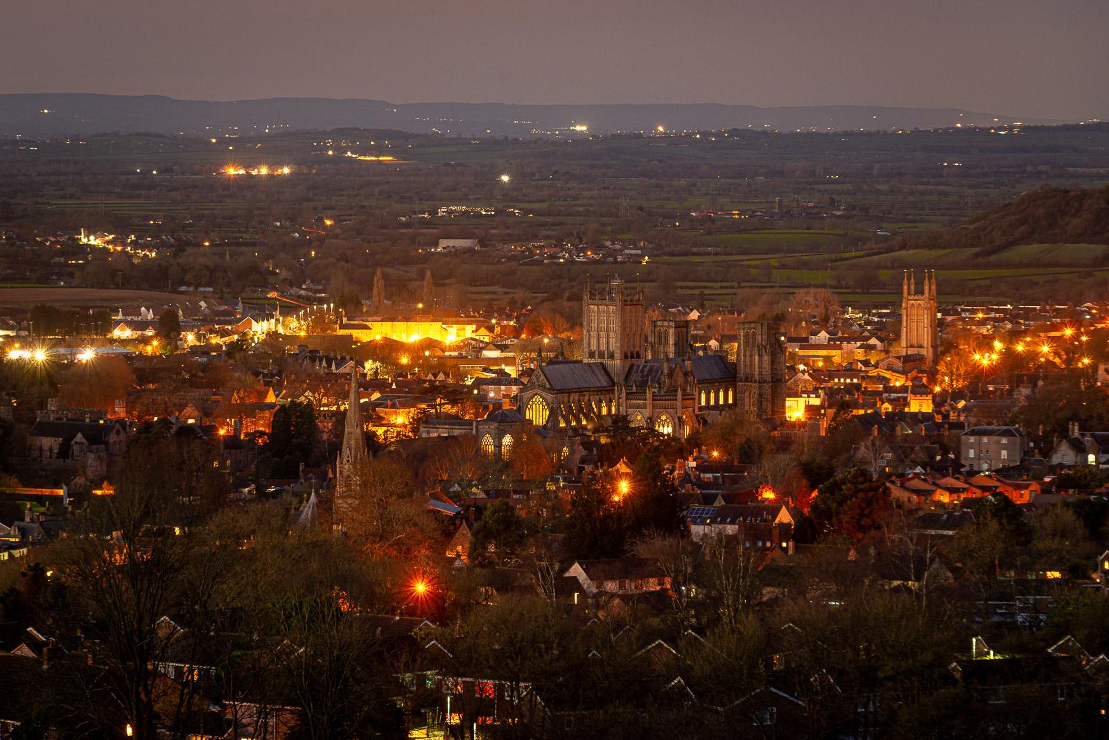 Christmas Sunrise - Wells, Somserset, UK. ID JB1_0670