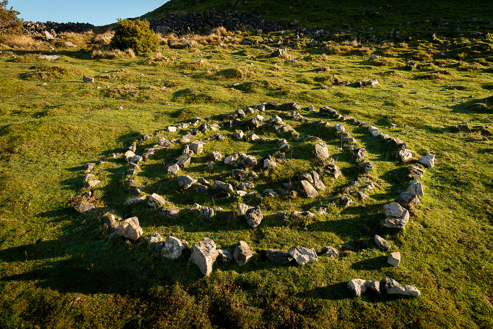 Stone Circle - Creak Peak, Somerset, UK. ID JB1_9626