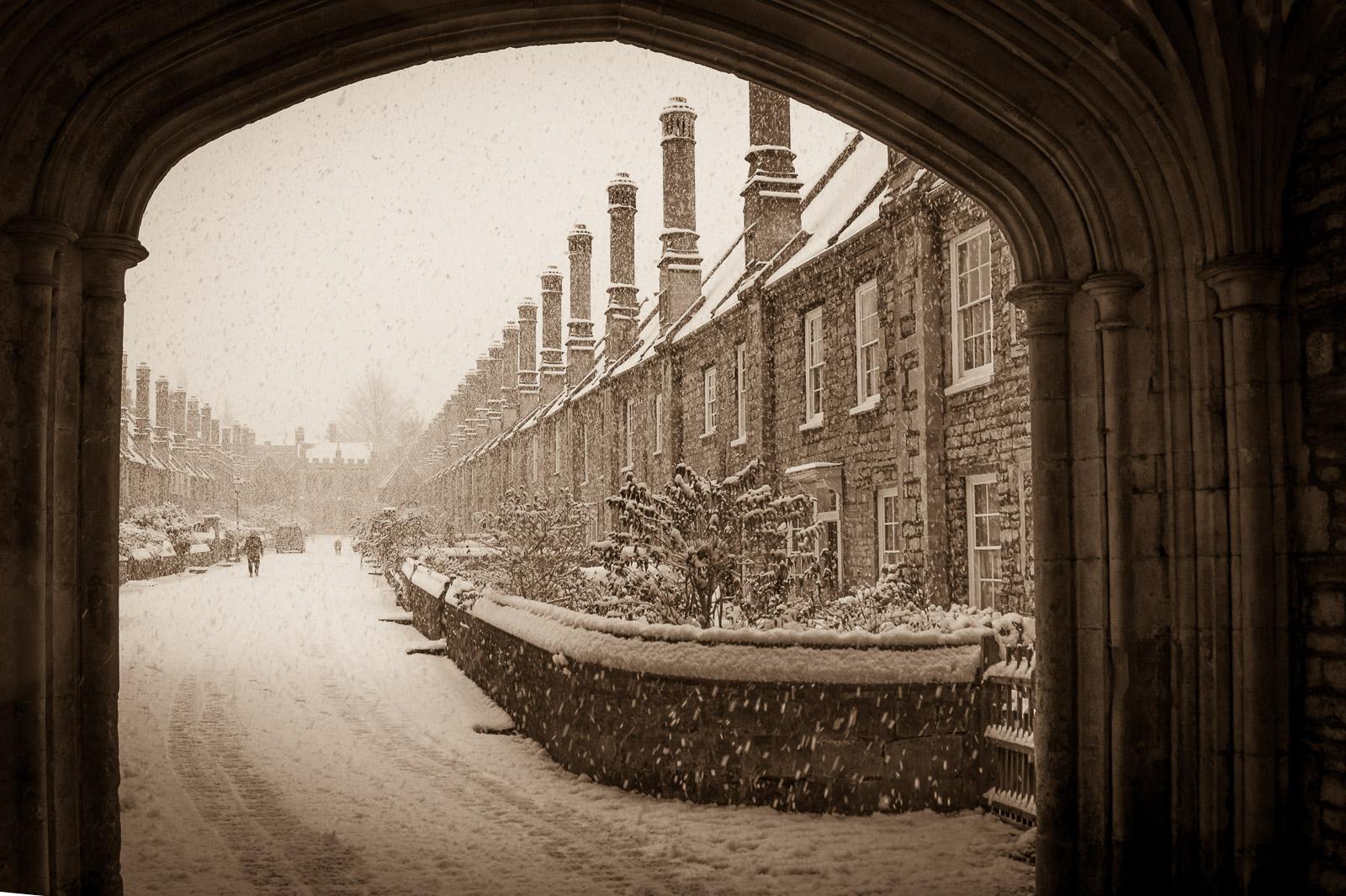 Vicars' Close - Wells, Somerset, UK. ID JB4_0132