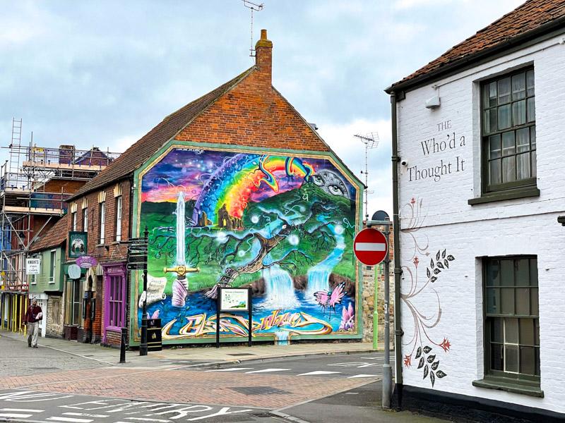 Welcome to Glastonbury - Somerset, UK. ID IMG_2733