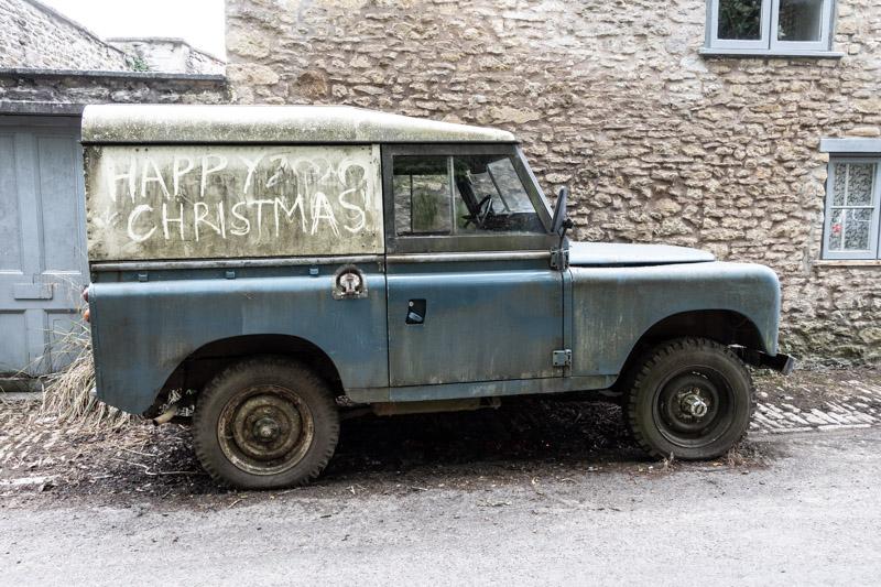 Happy 2020 Christmas - Batcombe, Somerset, UK. ID IMG_6326
