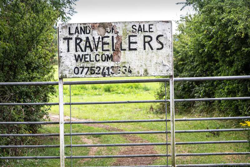 Travellers Welcome - Bream Rd, Nr Lympsham, Somerset, UK. ID IMG_7107