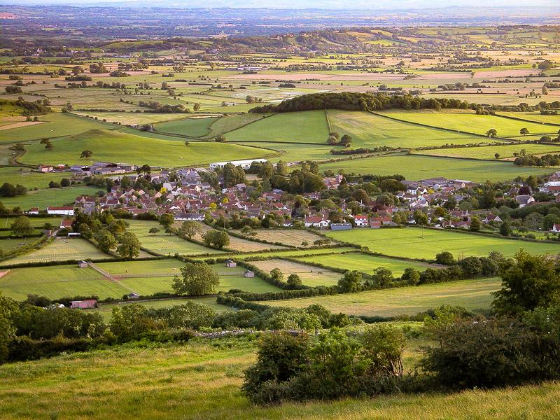 Westbury-sub-Mendip - From Cooks Fields, Somerset, UK. ID DSCN7328