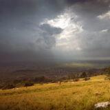 Approaching Storm - Deerleap, Mendip Hills, Somerset, UK. ID IMG_4877