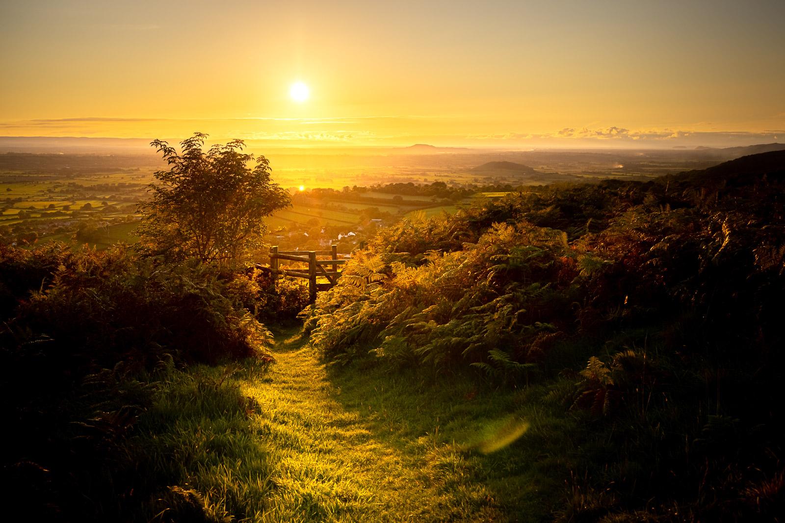 Autumn Equinox - Lynchcombe, Mendip Hills, Somerset, UK. ID BR57352